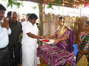 Bus Inauguration - Pudukottai to SRR Township